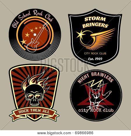 Rock badges