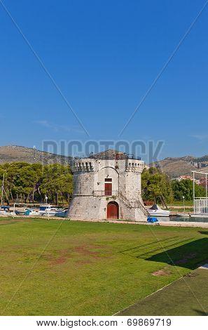 St Mark Tower (xv C.). Trogir, Croatia. Unesco Site