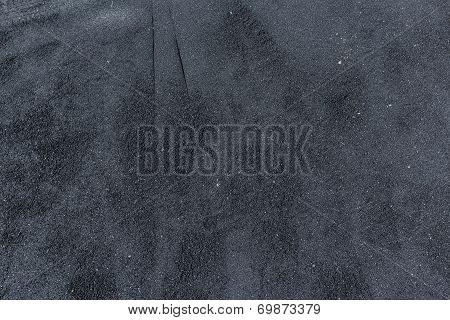 Freshly Placed Hot Asphalt Background