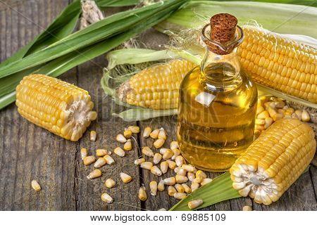 Corn with corn oil
