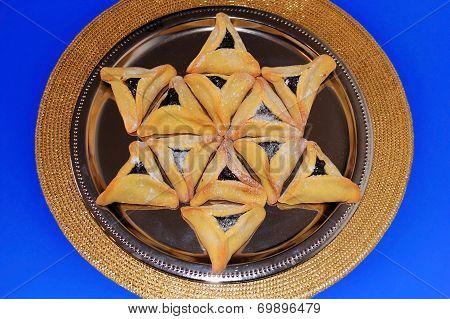 Hamantash Cookies For Jewish Festival Of Purim