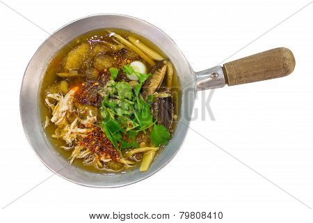 Fish Maw Soup.