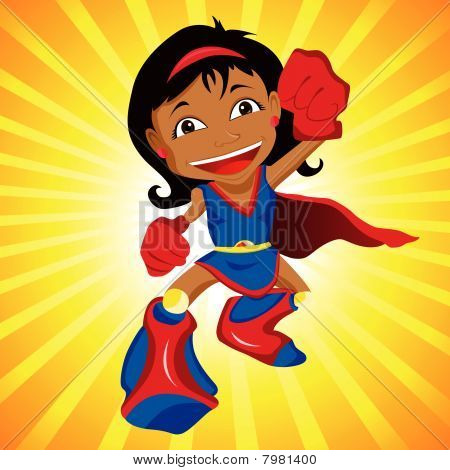 Black Super hero Girl.