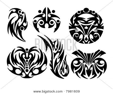 Tattoos design tribal style