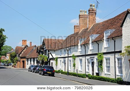 Old Town cottages, Stratford-upon-Avon.