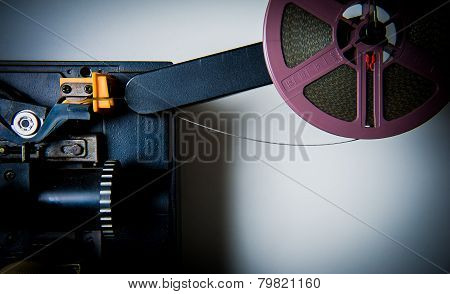 Detail Of 8Mm Projector
