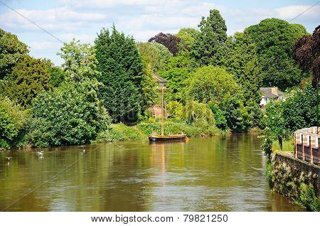 River Wye, Hereford.