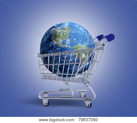 The Earth in the shopping trolley