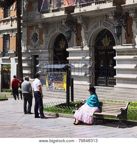 City Hall of La Paz, Bolivia
