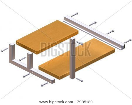 Instructions For Impossible Shelf Unit