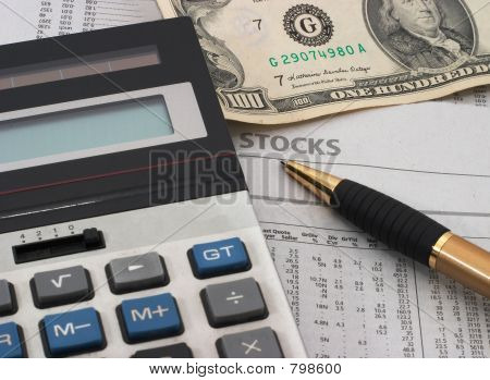Stock market data analysis, cash