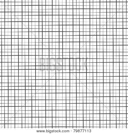 Geomentic seamless pattern with cross lines
