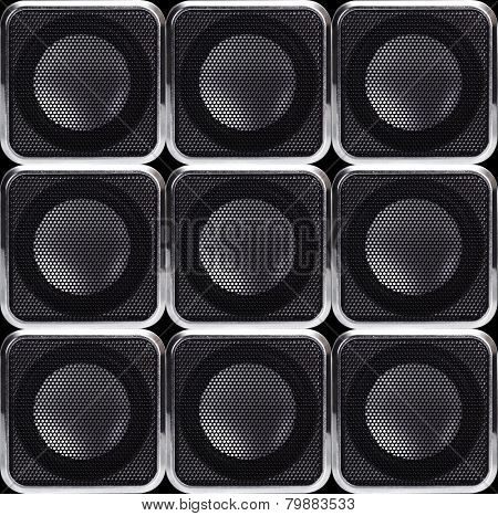 Background of the speakers