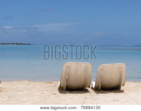 Two chairs in paradise