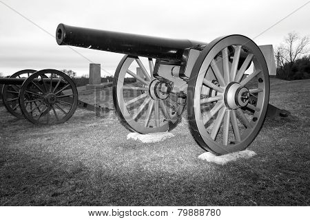 American Civil War Cannon