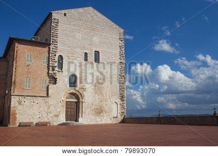 Palazzo Pretorio  In Gubbio (umbria, Italy)