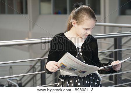 Girl prepping