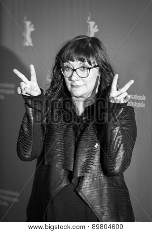 BERLIN, GERMANY - FEBRUARY 05: Director Isabel Coixet attends the 'Nobody Wants the Night' during 65th Berlinale International Film Festival at Grand Hyatt Hotel on February 5, 2015 in Berlin, Germany.