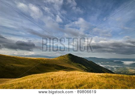 Ethereal Grassy Mountains