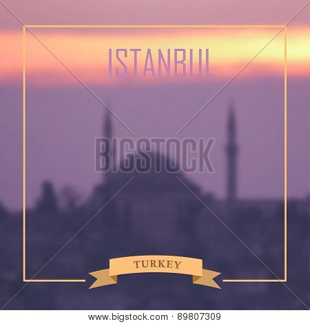 Istanbul Background