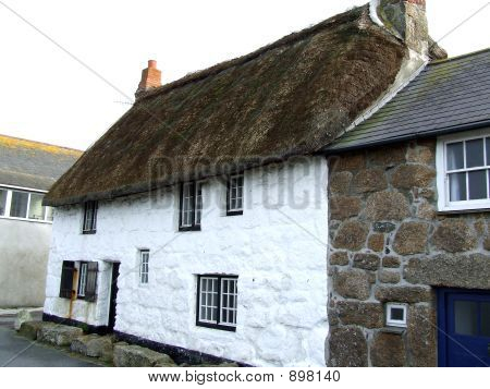 Cornish Thatched Cottage