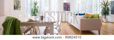 Untidy Living Room