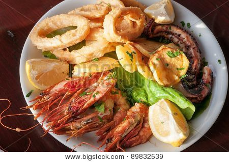 Sea Food Plate