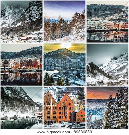 Set photos  from Bergen, Norwegia