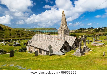 St Enodoc Church Trebetherick Cornwall