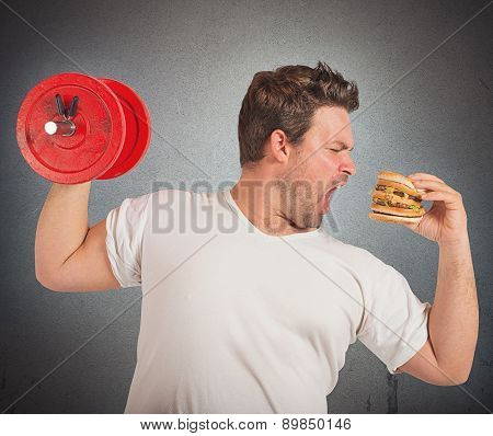 Weights vs sandwich