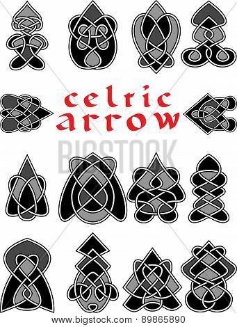 Set Celtic Arrows