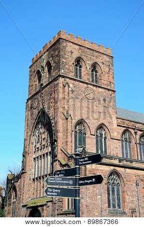 Shrewsbury Abbey.