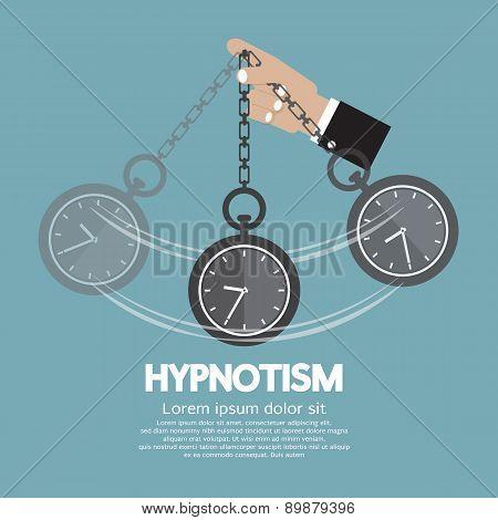 Hypnotism By Using A Clock.