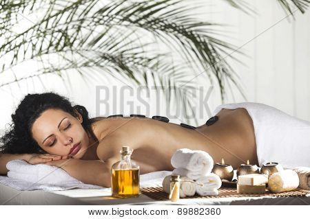 Spa Stone Massage