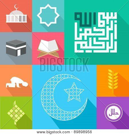icon islam islamic vector