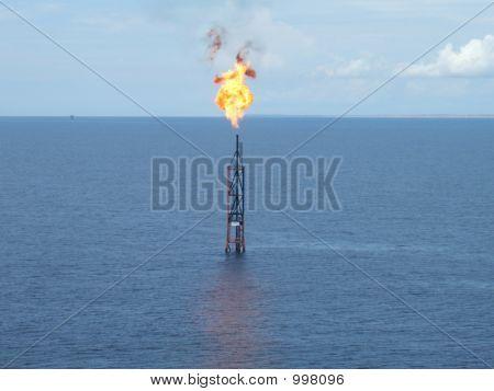 Burning Flare Boom