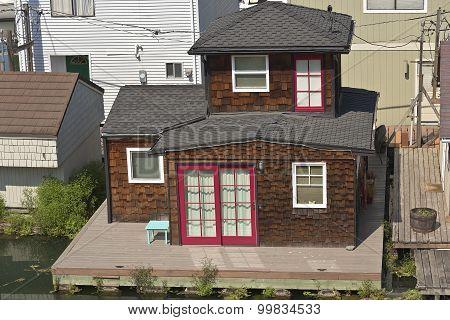 Home Sweet Home In A Bayou Portland Oregon.