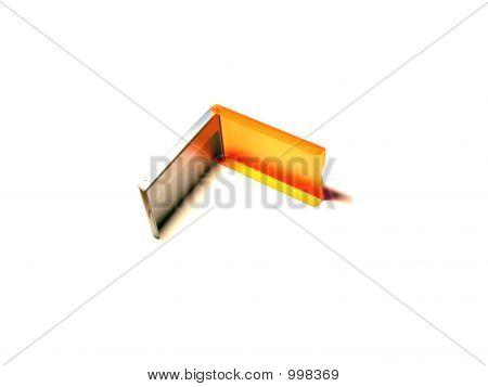 Orange And Silvery Box