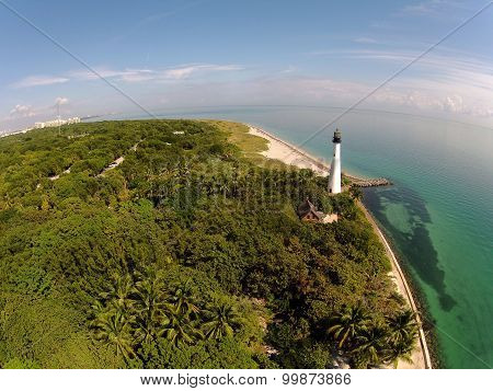Lighthouse Seen From Above