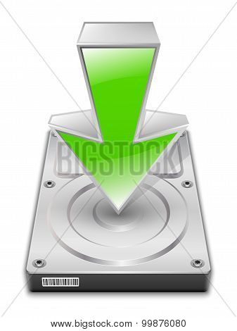 Download Icon. Vector