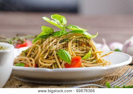Pasta With Milan Pesto