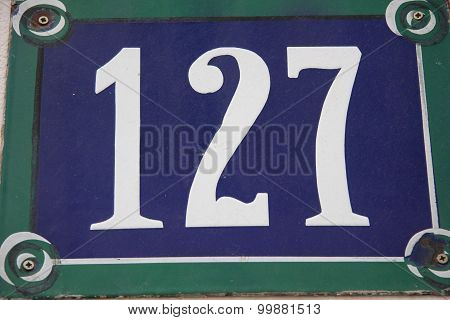 Number 127