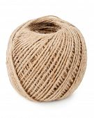 Skein of jute twine poster