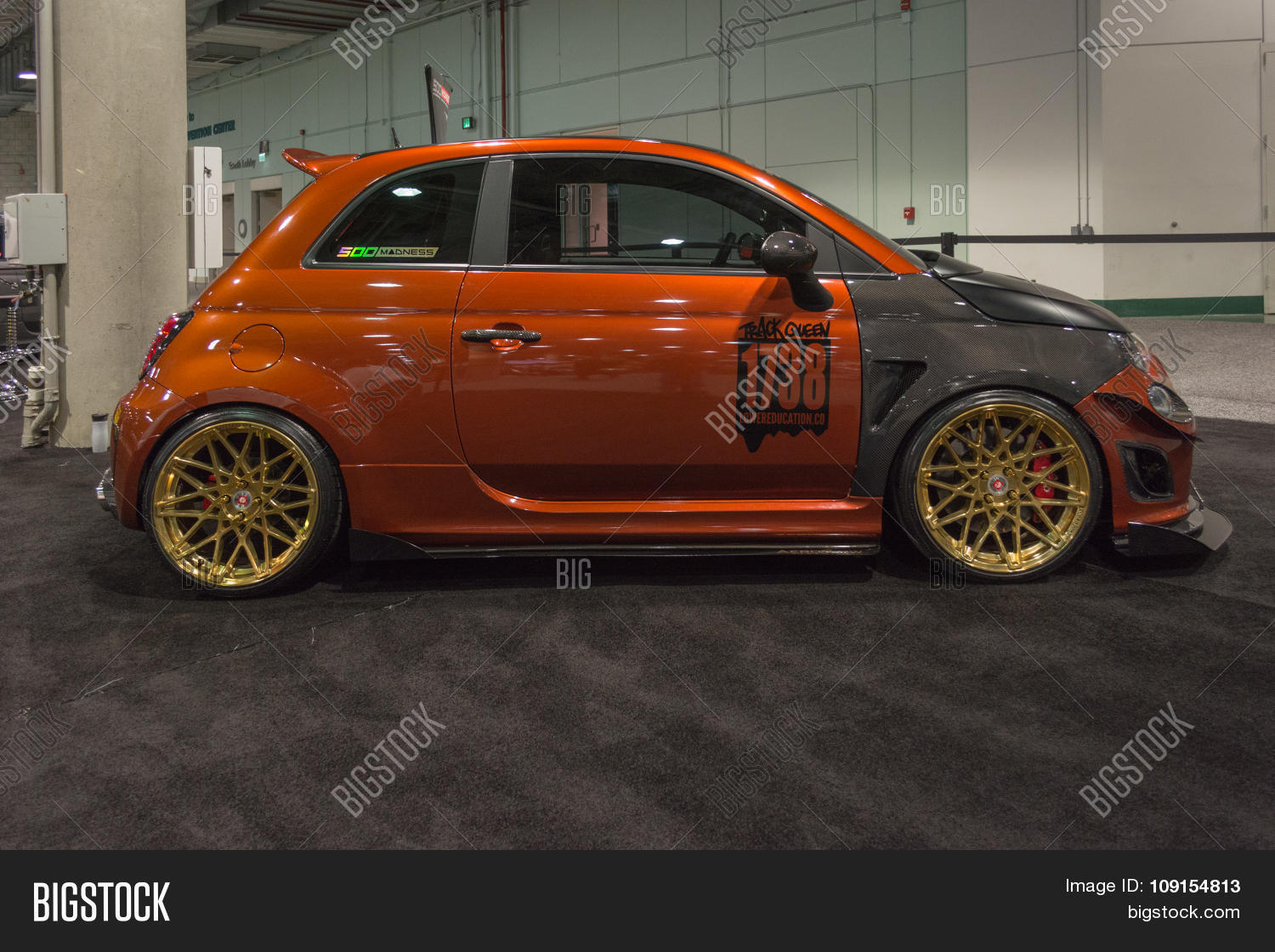 Fiat 500 Tuning On Image Photo Free Trial Bigstock