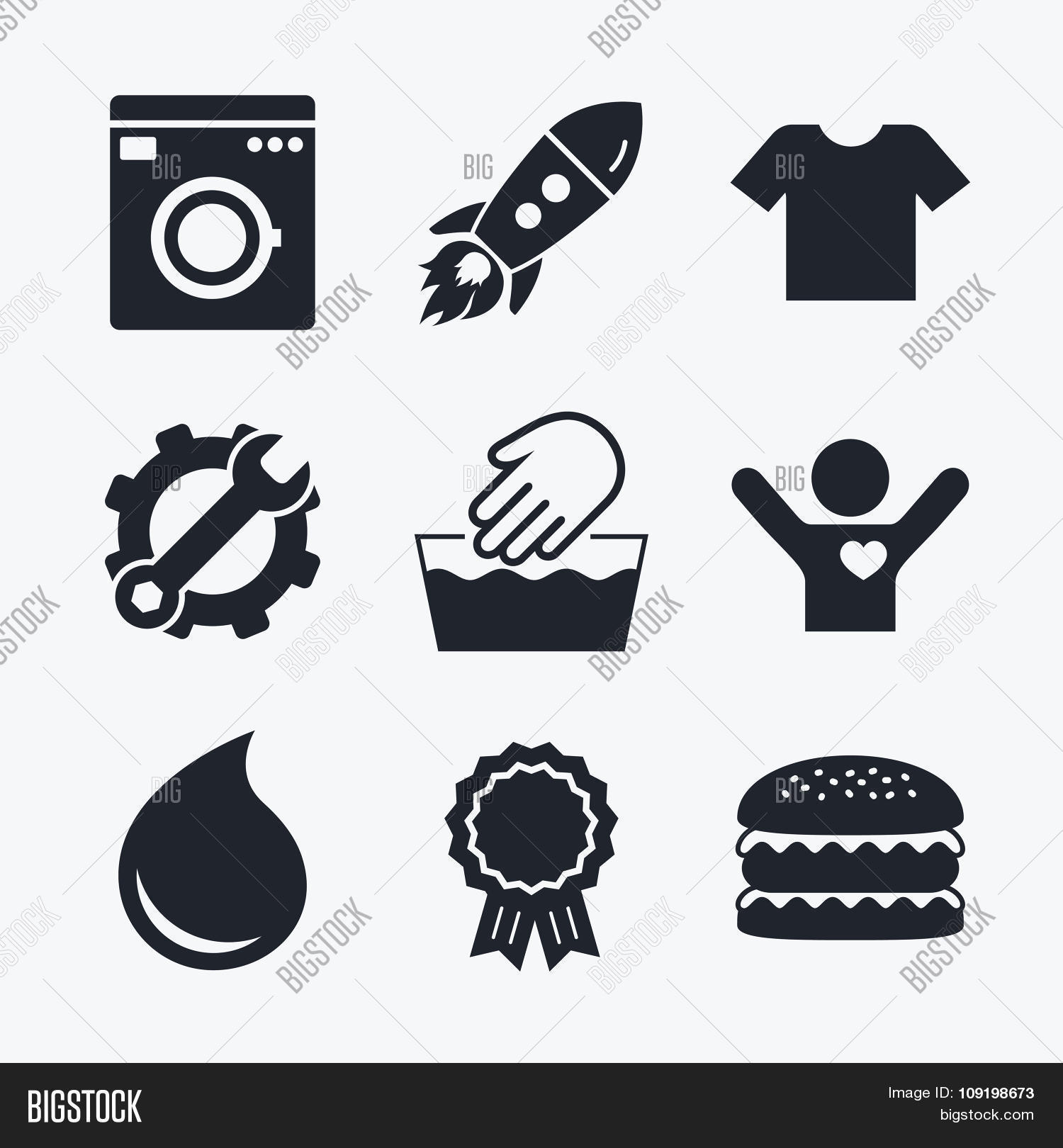 Wash Icon Not Vector Photo Free Trial Bigstock