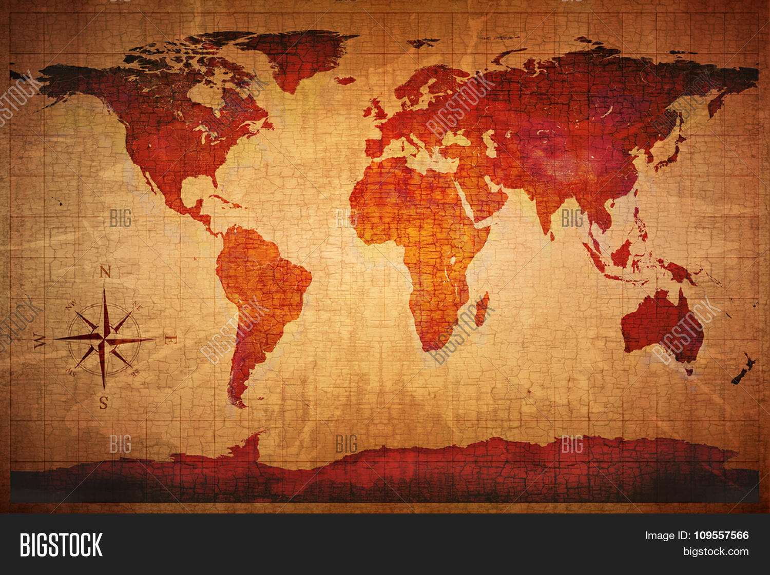 World map on old image photo free trial bigstock world map on old grungy antique and yellow cracked paper background map derived from nasa gumiabroncs Choice Image