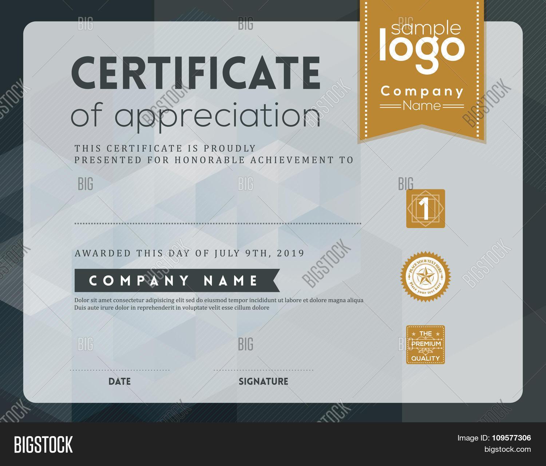 certificate of appreciation frame