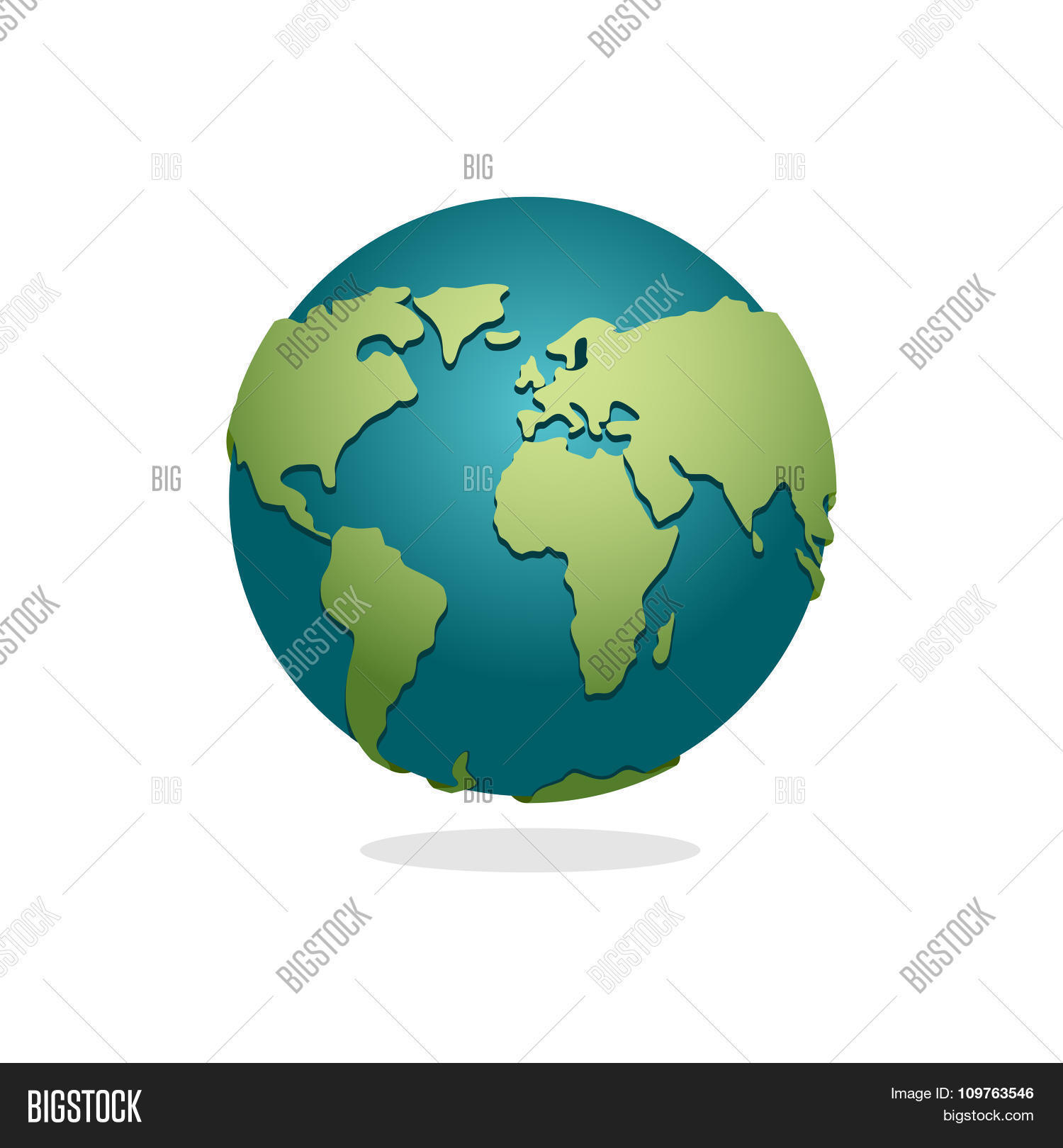 Earth planet sign globe space vector photo bigstock earth planet sign of globe space earth on white background world globe map sciox Image collections