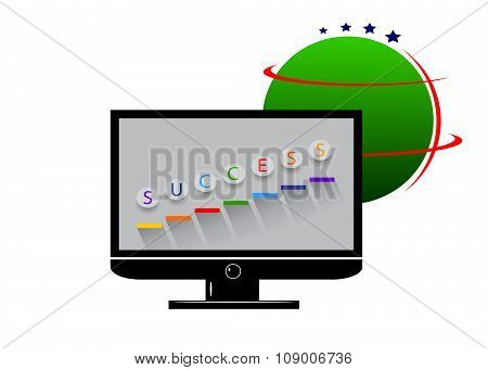 logo success.