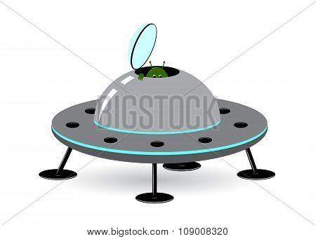 icon spaceship.